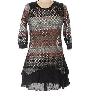 Firmianalily Medium Crochet Dress See Through